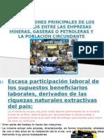 CONFLICTOS 10 RAZONES DEL DESCONTENTO PUEBLOS ORIGINARIOS,  MINAS Y GASERAS.pptx