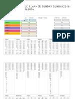 Event Schedule Planner test