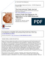 Abedini_Iceberg Trade Cost Measures an Application to the OECD Area Over 1988–2010