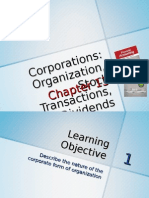 Chapter 13 - Corporations Organization, Stock Transactions, And Dividends