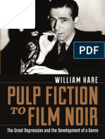 William Hare - Pulp Fiction to Film Noir - The Great Depression and the Development of a Genre