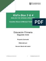 Kid's Box 3 & 4 ENGLISH FOR SPANISH SPEAKERS