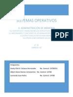 SIstemas operativos Unidad 4