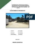 Informe Topografico Moyo