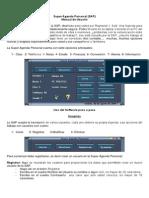 Manual de Super Agenda SAP