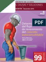 Determinacion Del Fjujo Del Revnimiento Del Concreto Autoconsolidable