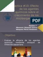 Agentes microbiologicos