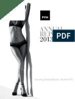 2013 Pvh Annual Report