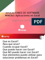 EXCEL - Aplicaciones de Software Minero