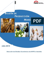 Mype-Industria Julio 2015