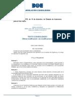 Estatuto Autonomia Pais Vasco