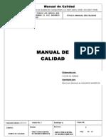 Manual de Calidad-Insumos Mineros