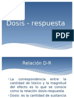 Dosis - Respuesta