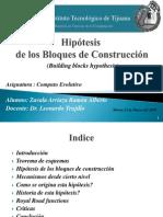 Hipotesis de los bloques constructores