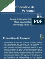 Pronostico de Personal