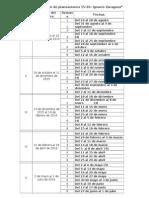 Calendarización de Planeaciones 15-16