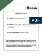 Vera. El principio Precautorio en el derecho peruano