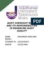 Audit610 Report
