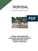 Proposal Saluran Air Pecangaan