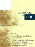 Literature an Introduction