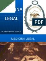 MEDICINA LEGAL. HISTORIA E IMPORTANCIA.pptx