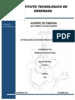 Optimizacion de Sistemas Productores de Energia