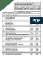 MM300 liste