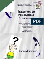 Trastorno Por Despersonalizacion Pptx