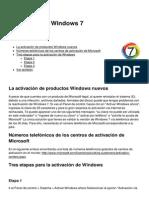 Activacion de Windows 7 4149 Kymexf
