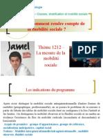 TD 1212 - La mesure de la mobilité sociale.ppt