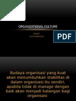 Organizational Culture