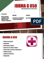 Exposición Norma G 050