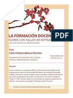 La Formación Docente-flores Con Tallos de Espinas- Ensayo