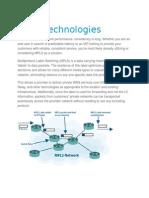 MPLS Technologies