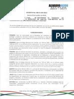 Decreto No 100-D-108-2013 Jueves 30 de octubre de 2013