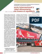 Comercio internacional y  seguridad alimentaria