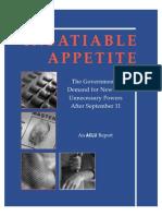B1 - The Insatiable Appetite