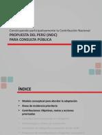 Ppt Propuesta Del Perú Indc 190615