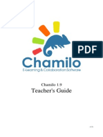 Chamilo Teacher Guide