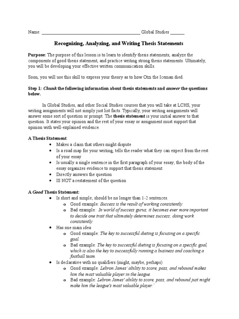 important components of a good essay Writing a great personal statement statement is the most important part of your admissions package the personal statement essay is your chance to state your.