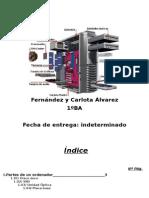 Javier Fernández y Carlota Álvarez (Interior de un ordenador)
