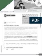 Guía 18 LC-22 CES Vocabulario Contextual II Relaciones Entre Las Palabras 2015