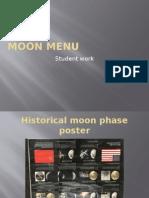 moon menu student examples