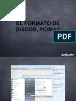 Clase 2 Formato de Discos