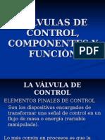Valvulas de Control