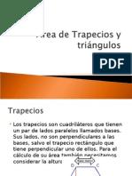 Área de Trapecios y Triángulos
