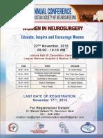 Women in Neurosurgery