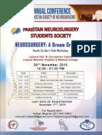 Pakistan's Neurosurgery Students Society
