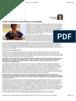 Entrevista Favela. Territorio de Sobrevivencia e Criatividade-libre