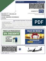 RyanairBoardingPass BGDE4V MAD CRL